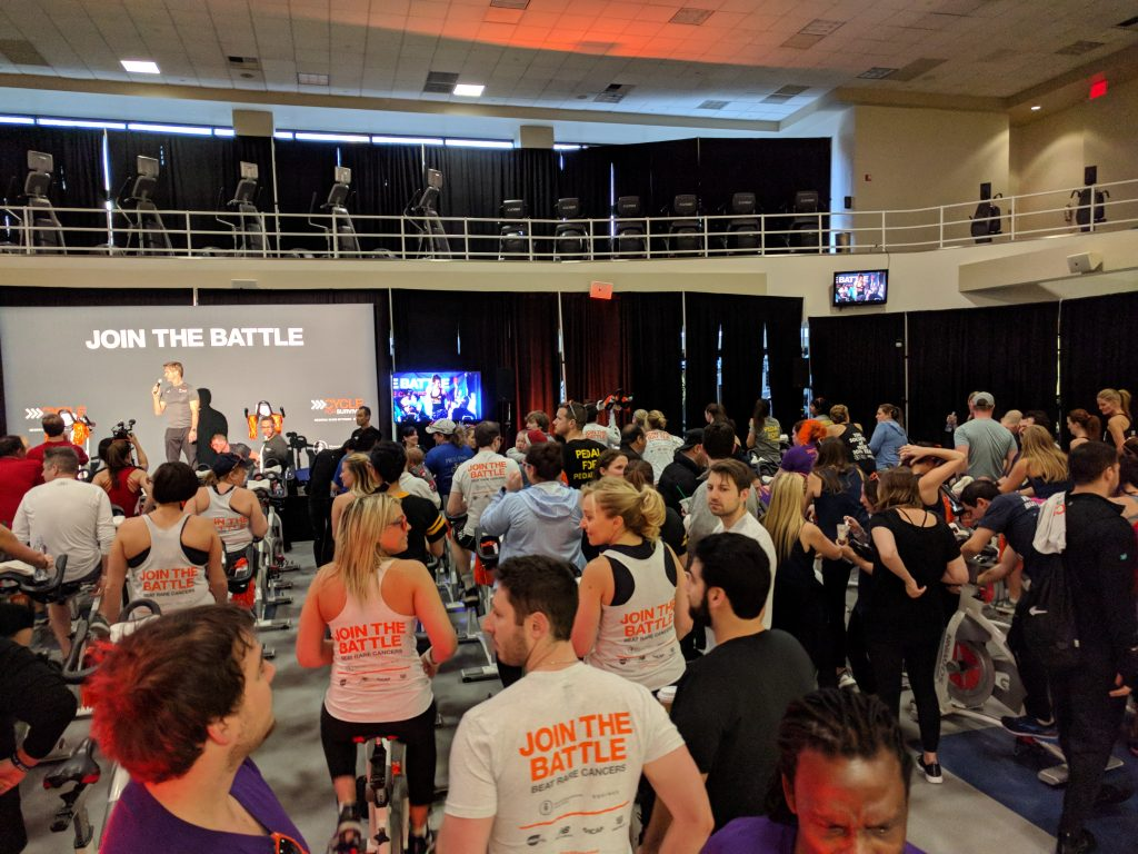 MSK Cycle for Survival in NYC - March 2018