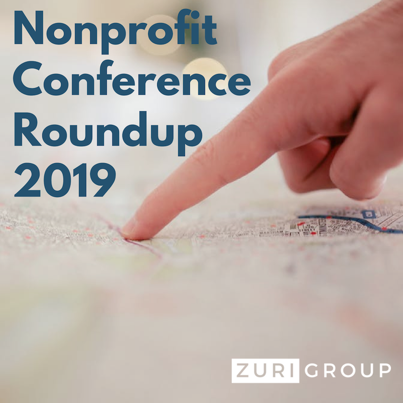 Here's a look at the nonprofit conferences we're planning on attending in 2019
