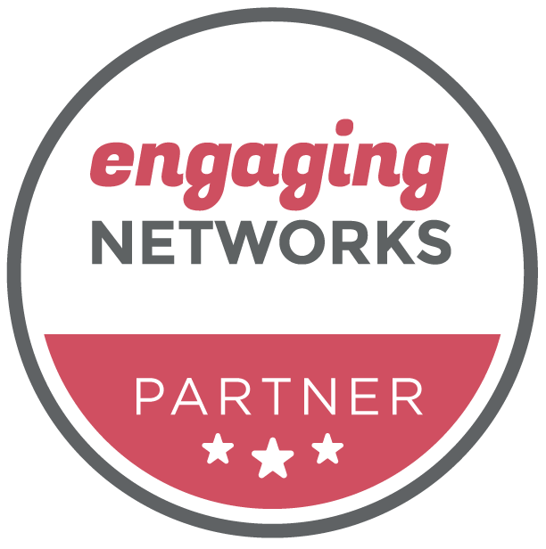 Engaging Networks Support Accredited Partner Badge