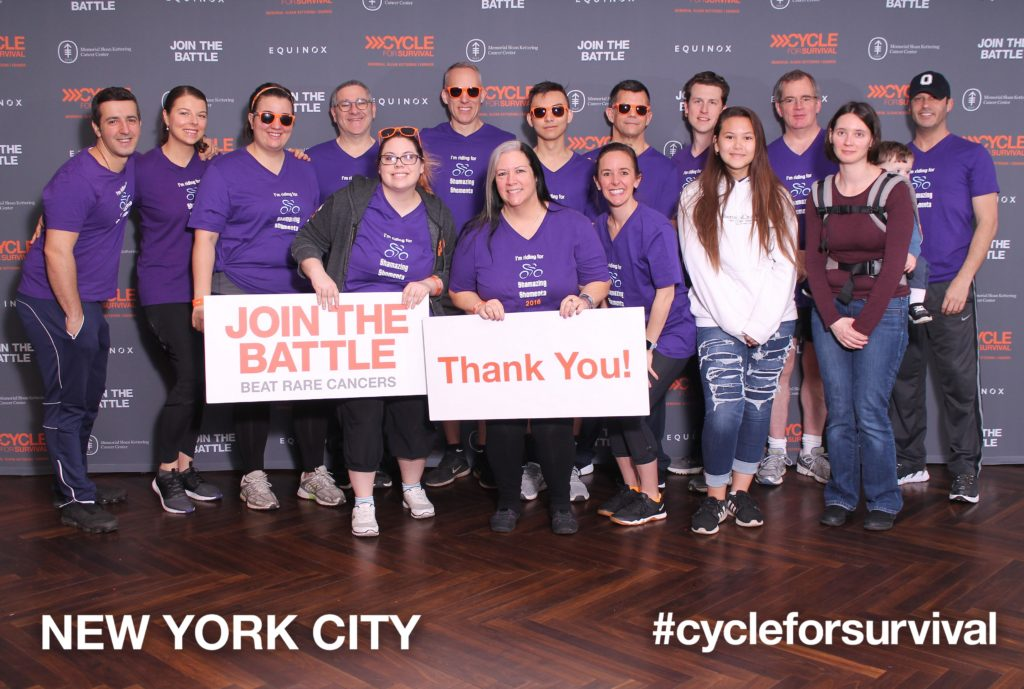 MKSCC Cycle for Survival 2019 Shamazing Shomenta Team Photo