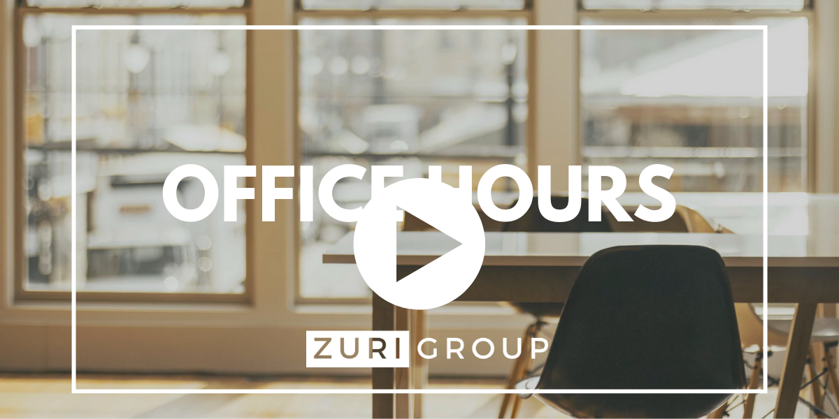 Zuri Group Office Hours | April 2019 - Master Data Management with Chris Cannon