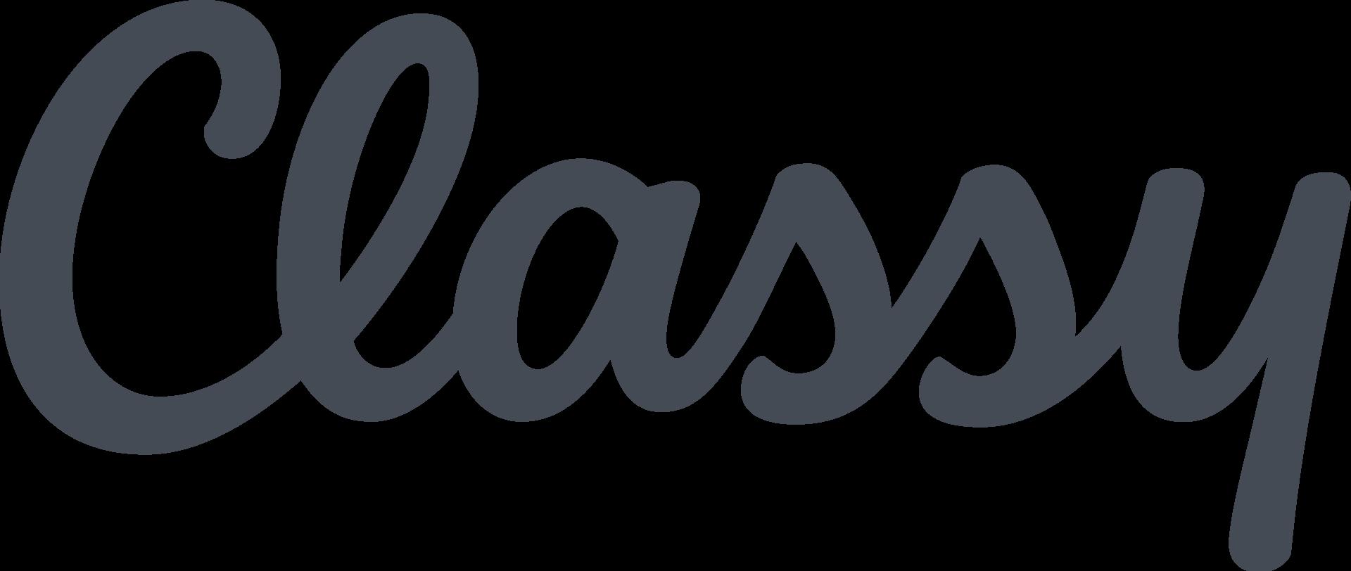 Classy Fundraising Logo