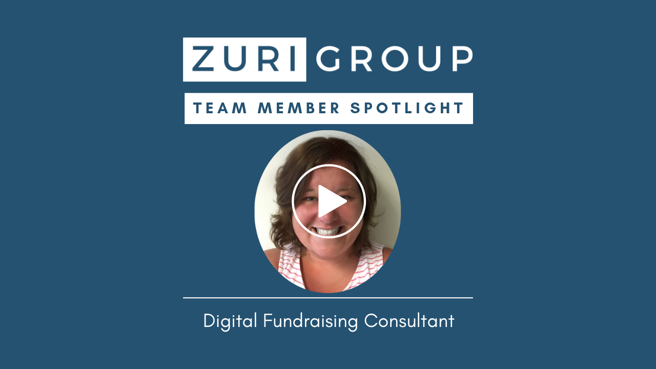 Zuri Group Team Member Spotlight | Carly Samuelson, Digital Fundraising Consultant